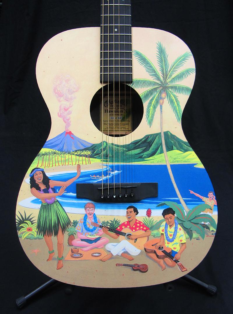 Martin: Hawaiian X